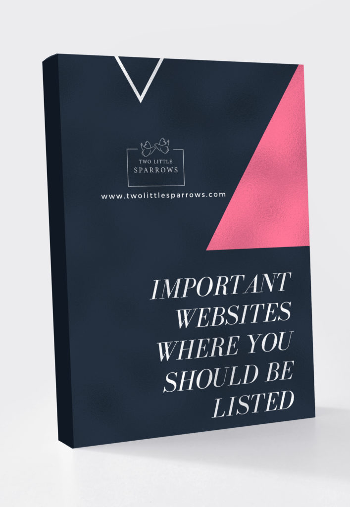 Websites where your business should be listed